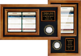 memorable moments ball & 6x8 scorecard display