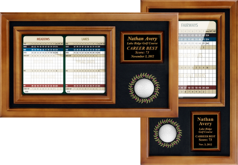 "Memorable Moments Ball & 6""x8"" Scorecard Display - ProActive Sports Tournament Store"