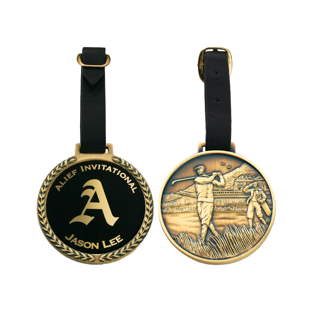 Brass Bag Tag - ProActive Sports Tournament Store