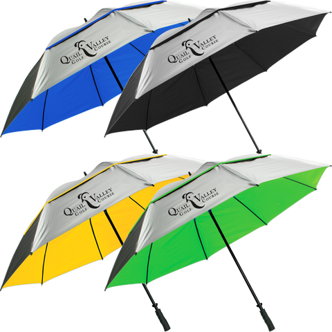 "68"" SunTek Double Canopy Umbrella - ProActive Sports Tournament Store"