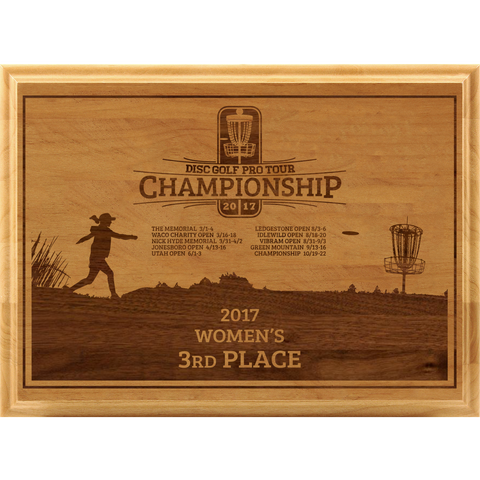Red Alder Plaque - ProActive Sports Tournament Store