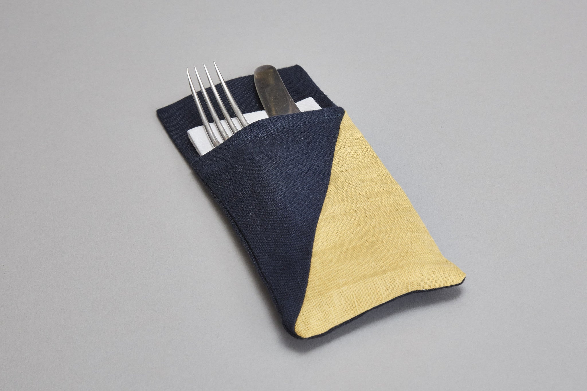 Cutlery Holder (blue+yellow)