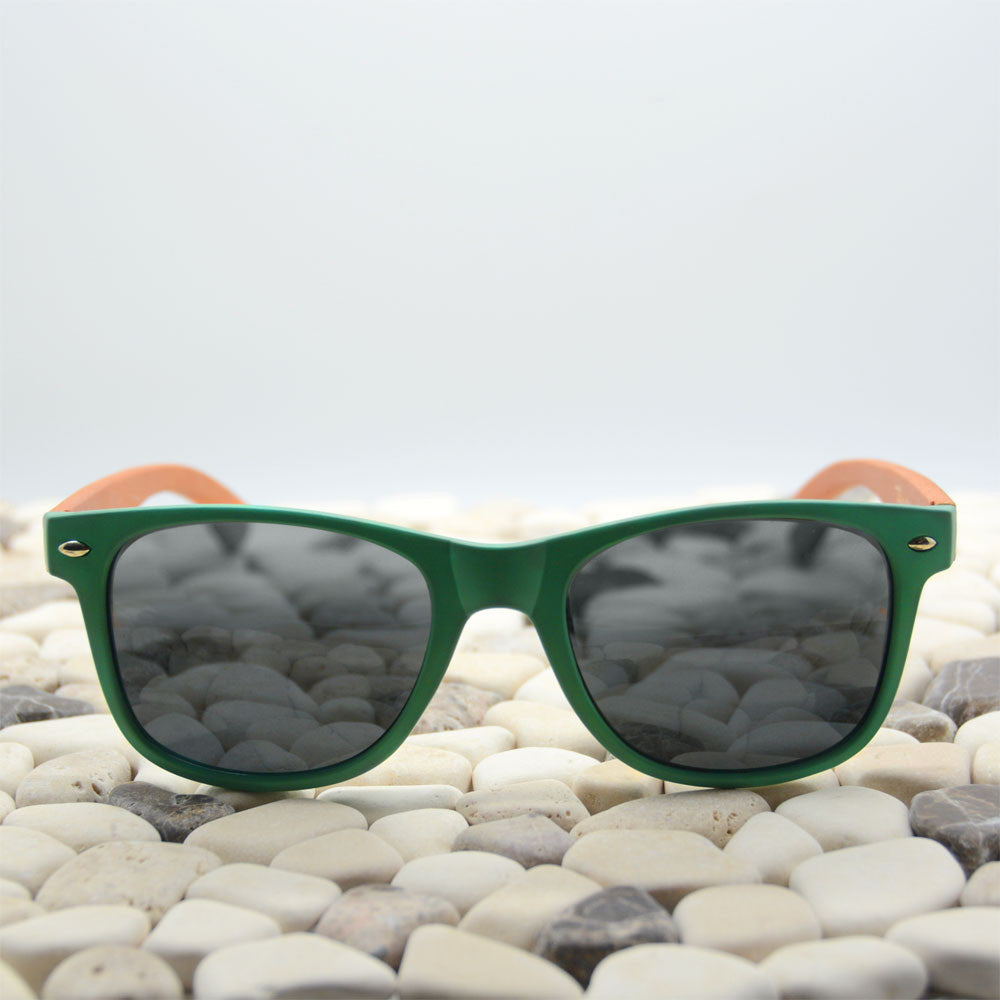Mint wood sunglasses