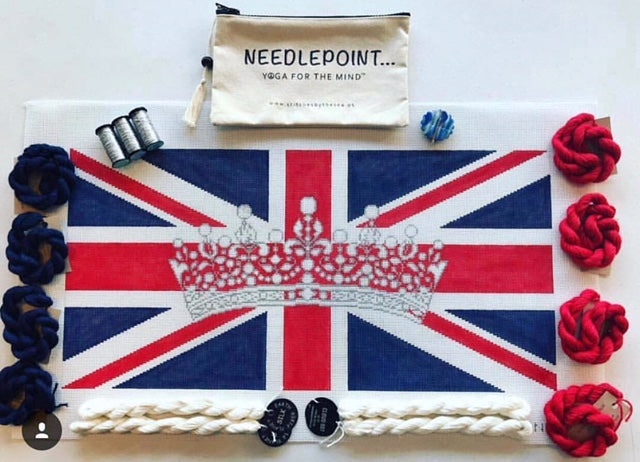 Union Jack with Crown