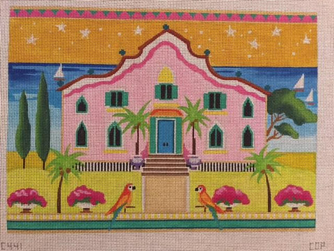 WHIMSY PINK HOUSE