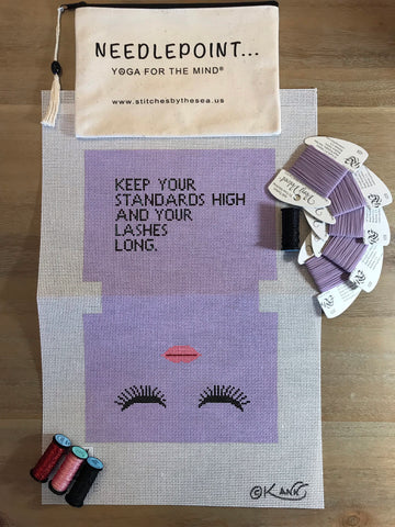 Long Lashes - Lavendar