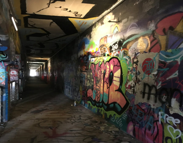 Graffiti in the Krog Street Tunnel