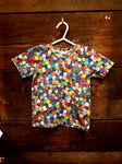 Toddler T-shirt - With multi-sided dice fabric