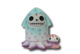 Squeed Furrybones Squid Hand Painted Resin Figurine