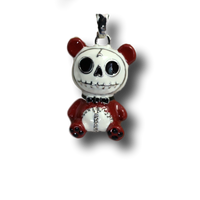 Pandie Furrybones Red Panda Bear Pendant Necklace