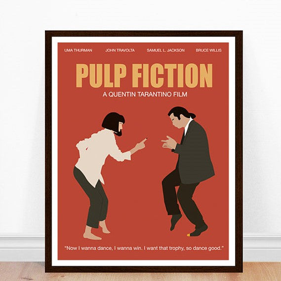 Prints - 11 x 14 - Pulp fiction