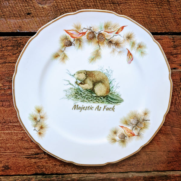 Decorative Plates - Majestic as fuck