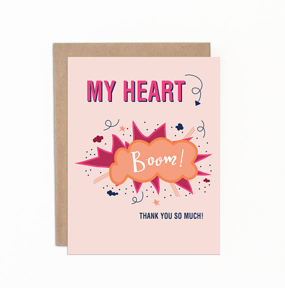 Greeting cards - My heart