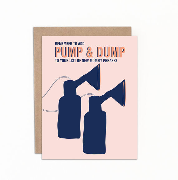 Greeting cards - Pump and dump