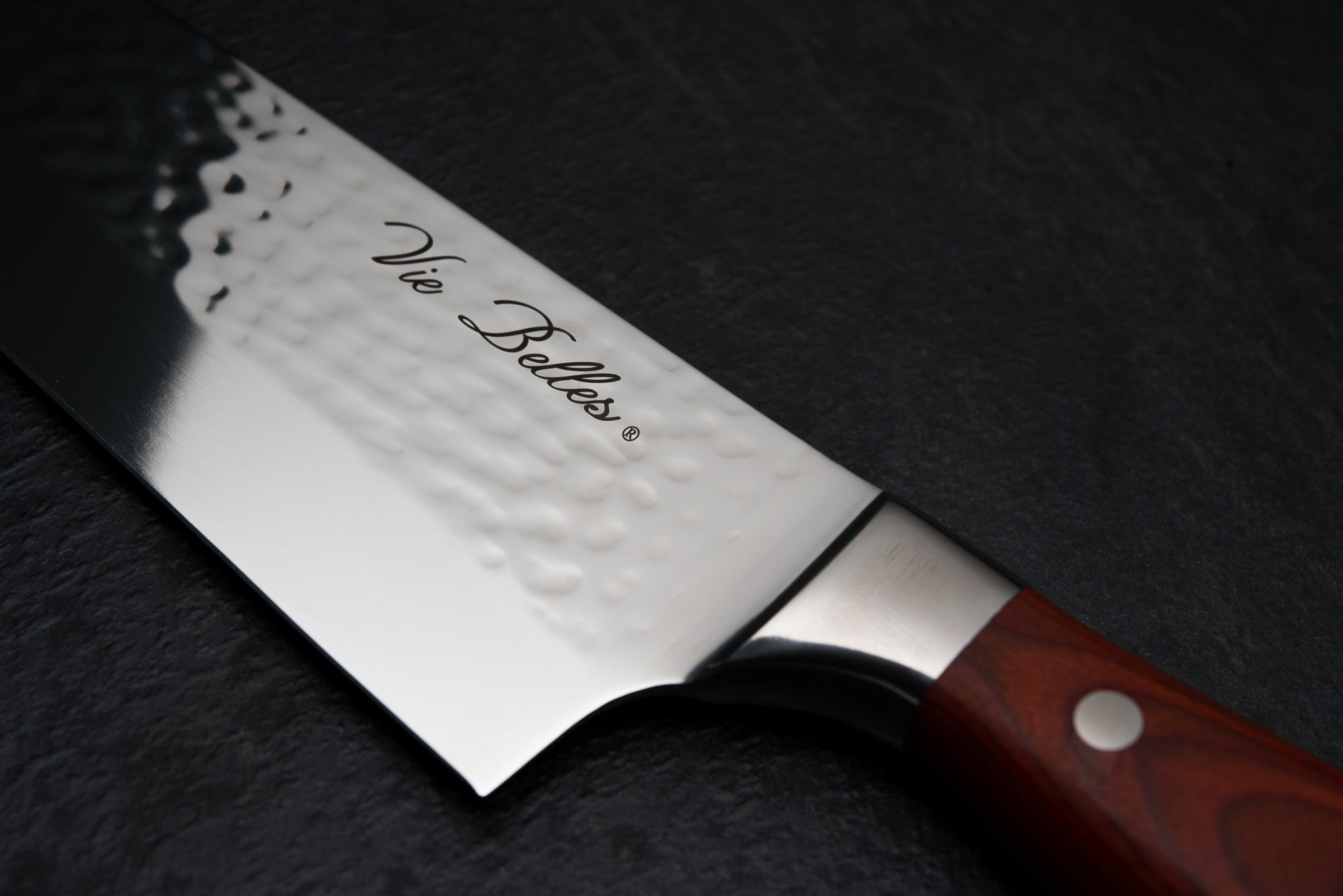 Vie Belles Classic Chef's Knife Close Up