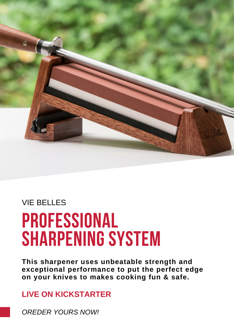 Vie Belles Professional Knife Sharpening System