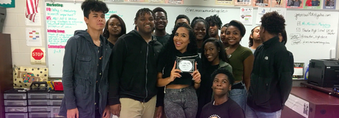 Behind The Scenes With BSimone: Motivational Speaking at Atlanta High School