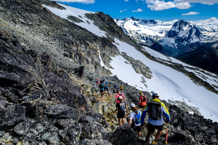 Capra Alpine Running Camp: Runners in the Blackcomb Alpine