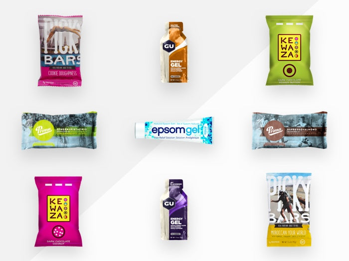 Variety of Sports Nutrition Products