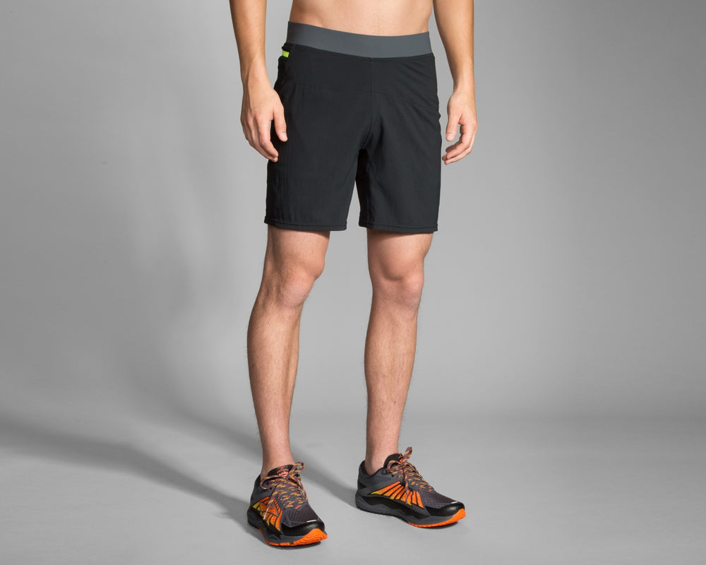 "Brooks Cascadia 7"" Short Black"