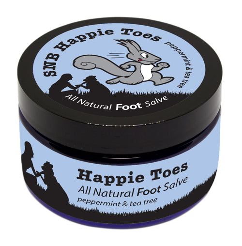 Squirrel's Nut Butter Happie Toes - 4oz Tub