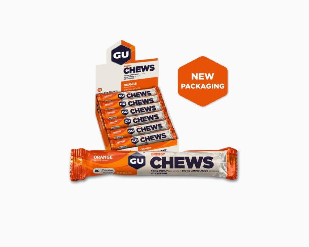 GU Energy Chews Orange