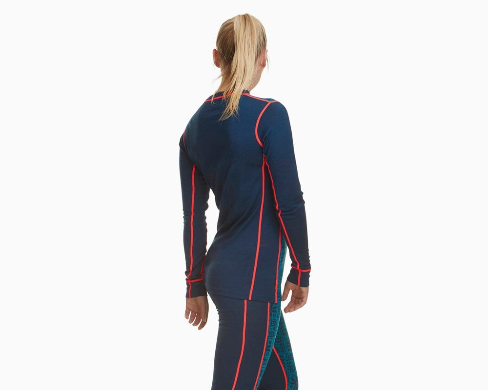 Kari Traa Vrang LS in Navy back view