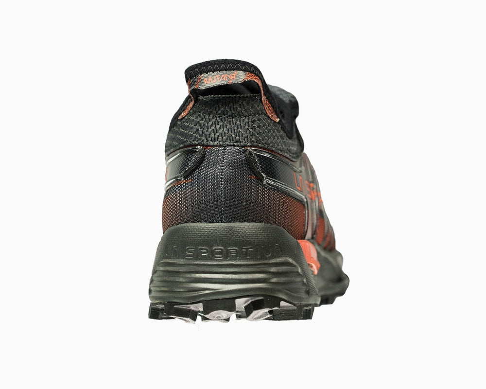 La Sportiva Mutant Carbon/Flame Heel Detail