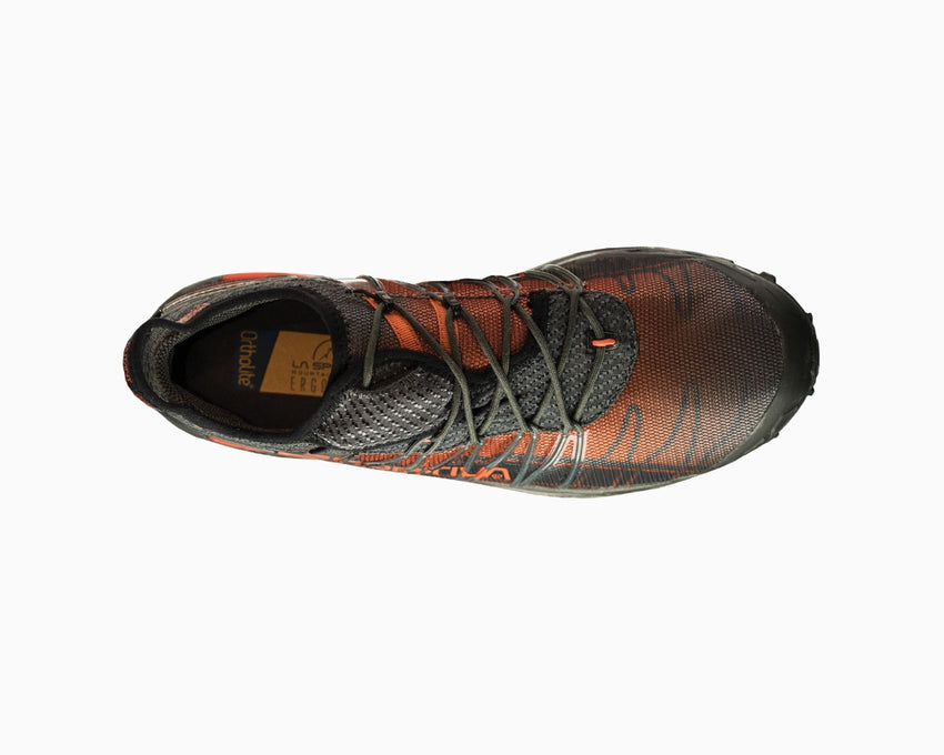 La Sportiva Mutant Carbon/Flame Top View