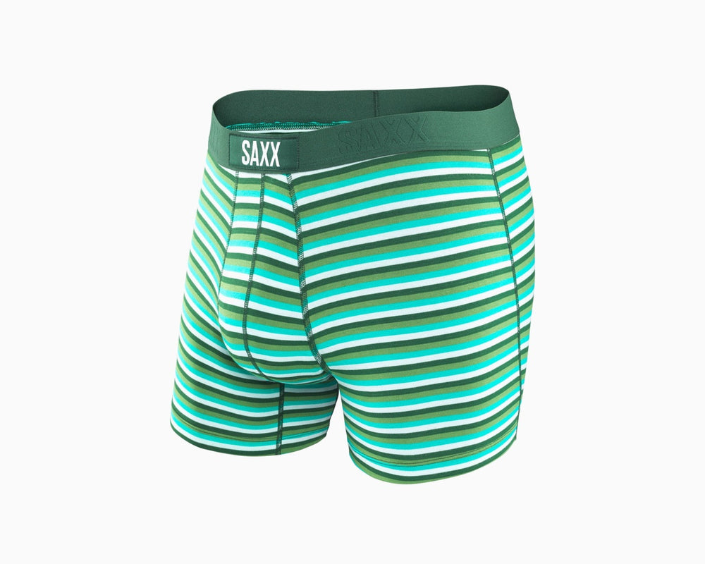 SAXX Vibe Boxer in Tonal Forest Hiker Stripe