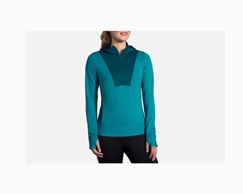 Brooks Notch Thermal Hoodie Women's