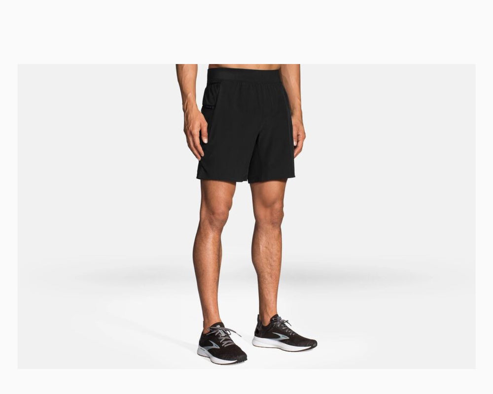 "Brooks Sherpa 7"" 2-in-1 Men's Short"