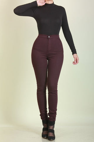 Zip Me Up High Waist Pants