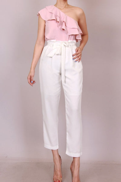 White and dine Pants