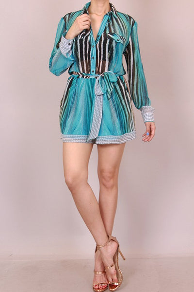Running Water Romper