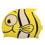 Children's Cartoon Fish Swimming Cap Silicone