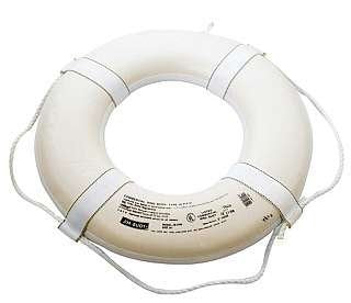 Coast Guard Approved Ring Buoy 24""