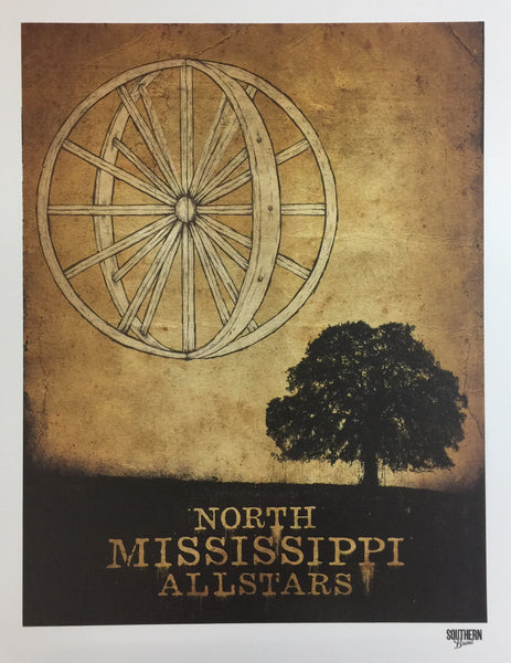 Wheel In The Sky Poster