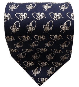 Celine 1997 Executive Silk Tie