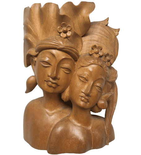 Exotic Balinese Wooden Sculpture