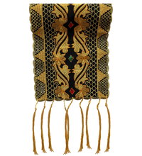 Luxury Shoulder Throw: Indonesian Tapis Embroidery