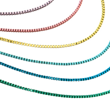 Rainbow Chain Necklaces