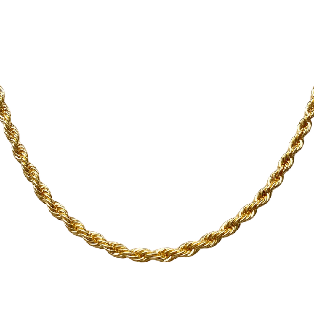 Twist Rope Chain Necklace