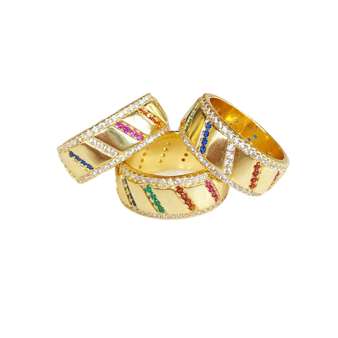 Amalfi Rainbow Ring