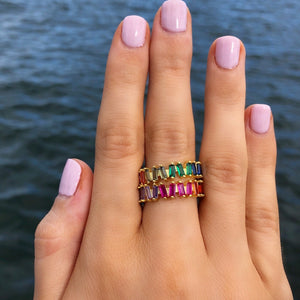 Eliza Rainbow Ring