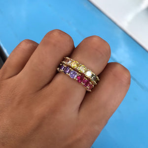 Ombre Rainbow Ring