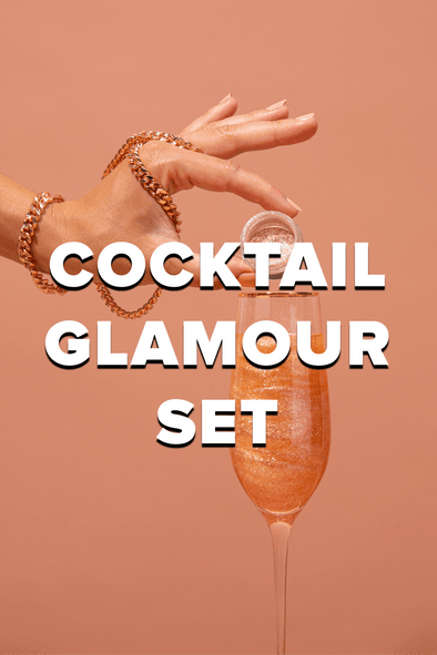 COCKTAIL GLAMOUR SET