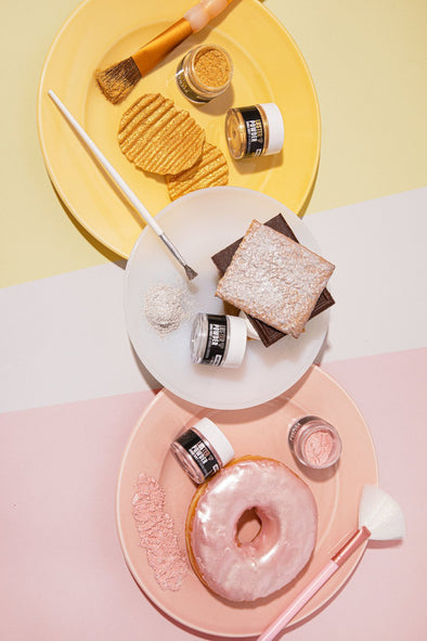 LUSTER POWDER METALLIC SET