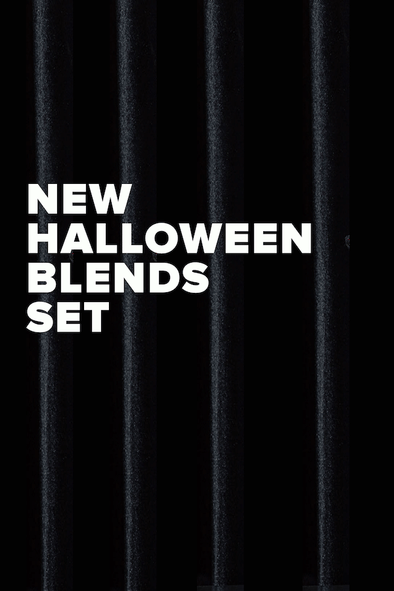 NEW HALLOWEEN BLENDS SET
