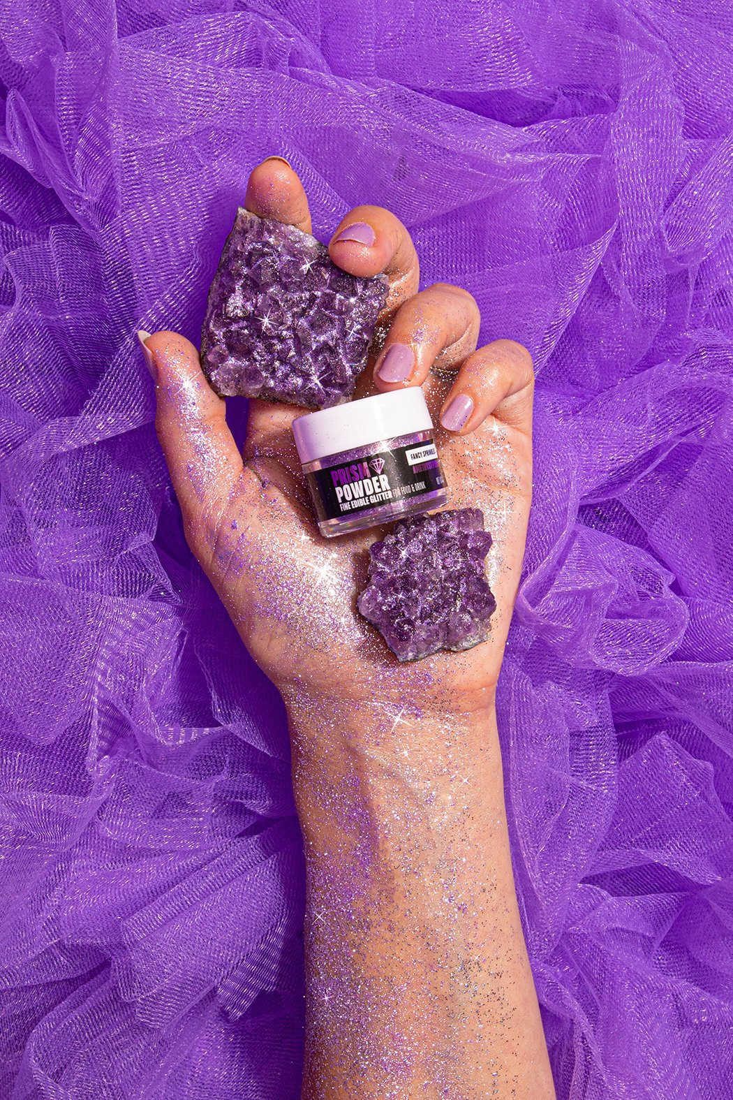 AMETHYST PURPLE PRISM POWDER® - FANCY SPRINKLES